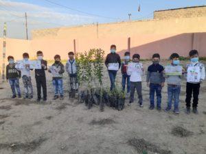 Tree planting in Iraq